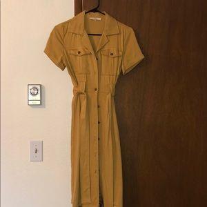 Button up dress 😍